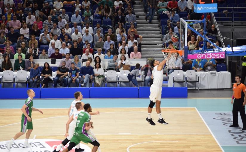 El Real Madrid de Baloncesto se pone líder de laACB