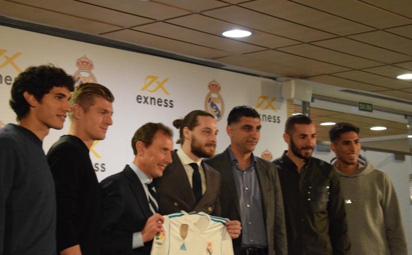 El Real Madrid firma un patrocinio de tres años conExness