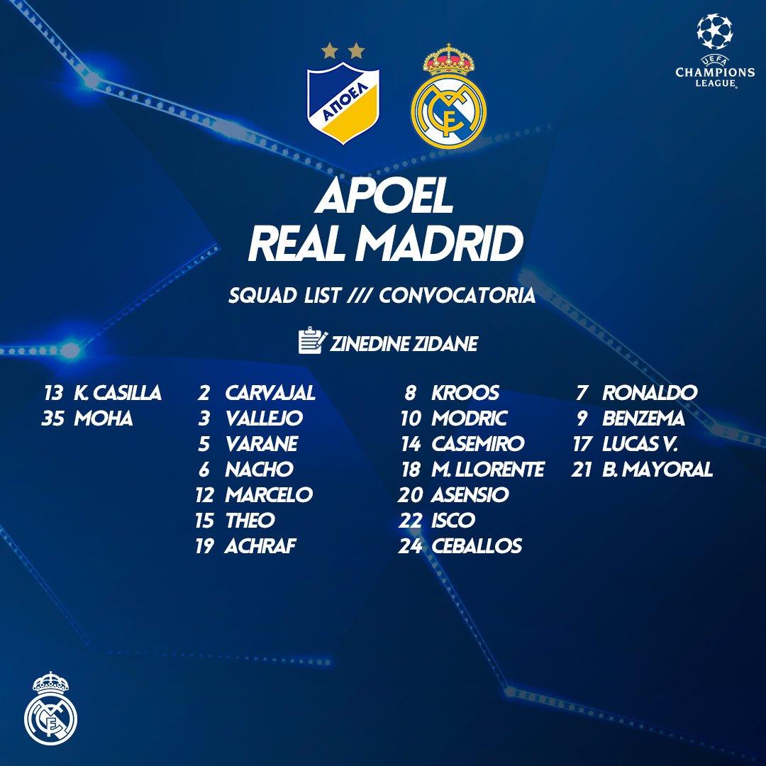 REAL MADRID APOEL