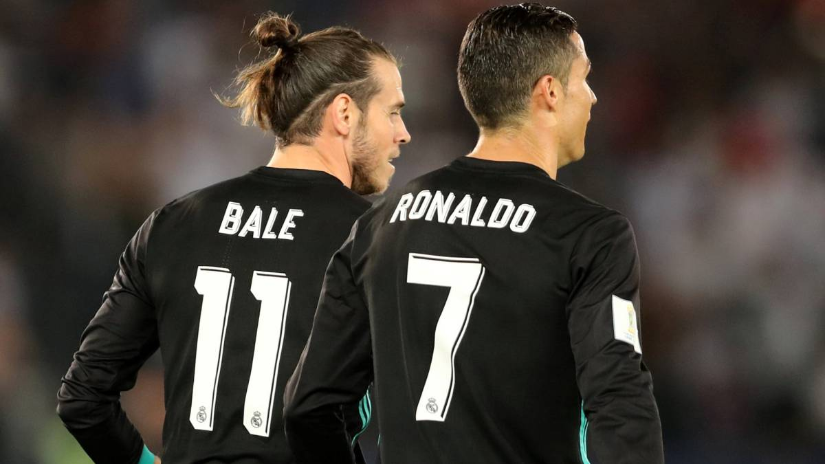 Bale y Ronaldo