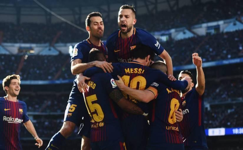 Pasillo a la Liga en elBernabéu