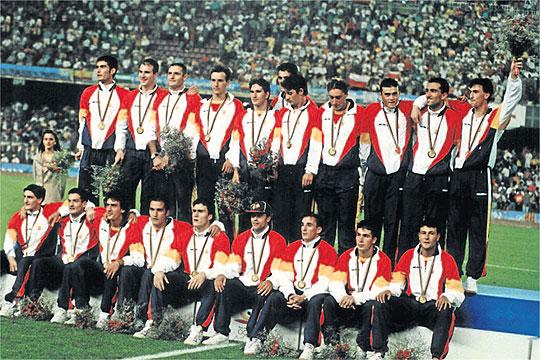 PODIO OLIMPIADAS 1992