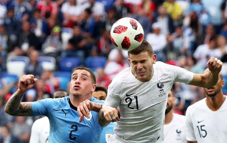 Quarter Final Uruguay vs France