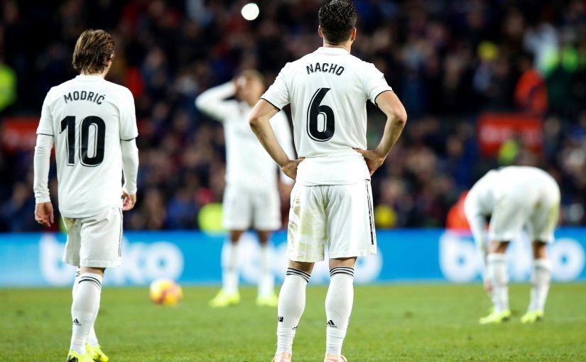 El Real Madrid, al borde delprecipicio