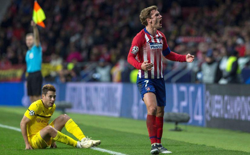 Atleti y Barça se clasifican aoctavos