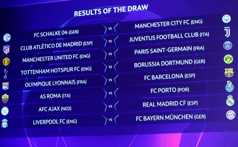 Los equipos españoles conocen su suerte enoctavos