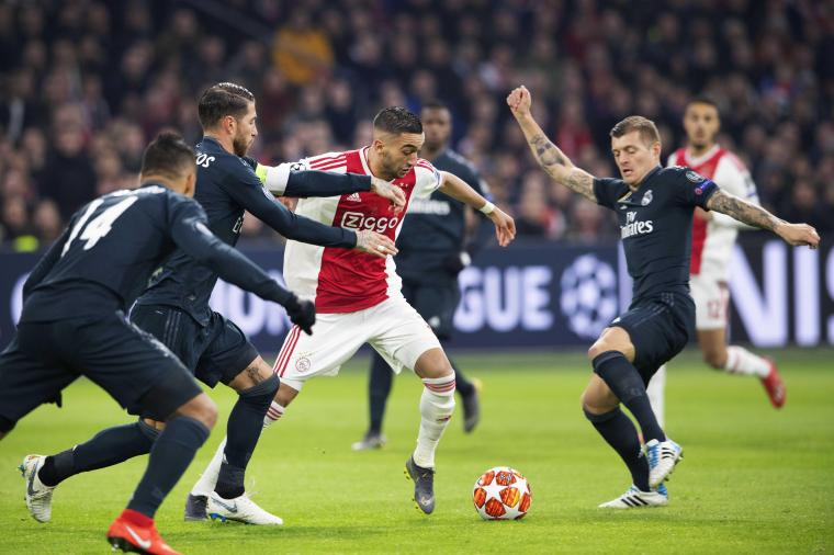 Ajax Amsterdam vs. Real Madrid