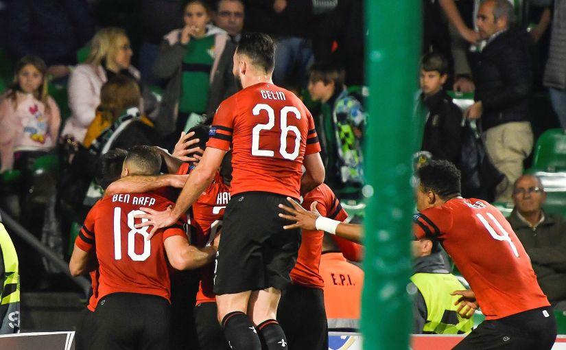 El Rennes evita un pleno español enUEL