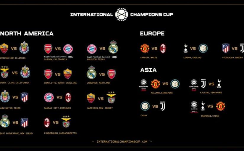 La International Champions Cup tiene definidos loscruces