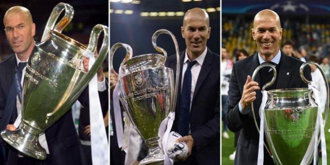 Zidane champions